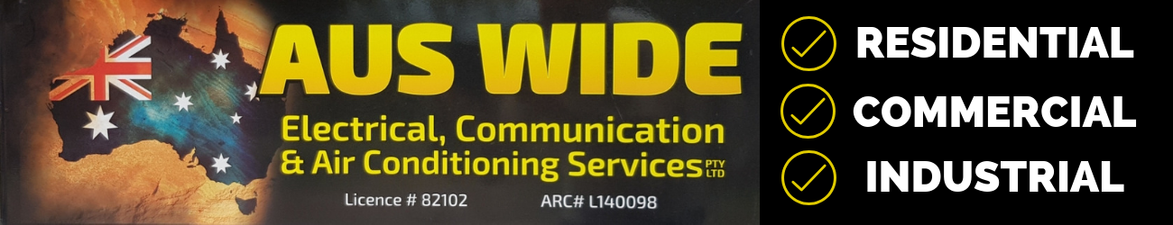 Auswide Electrical Communication And Air Conditioning Services Pty Ltd Logo